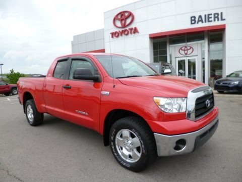 Radiant Red 2007 Toyota Tundra SR5 TRD Double Cab 4x4