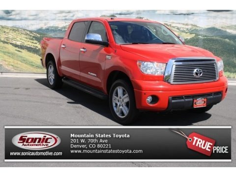 Radiant Red 2010 Toyota Tundra Limited CrewMax 4x4