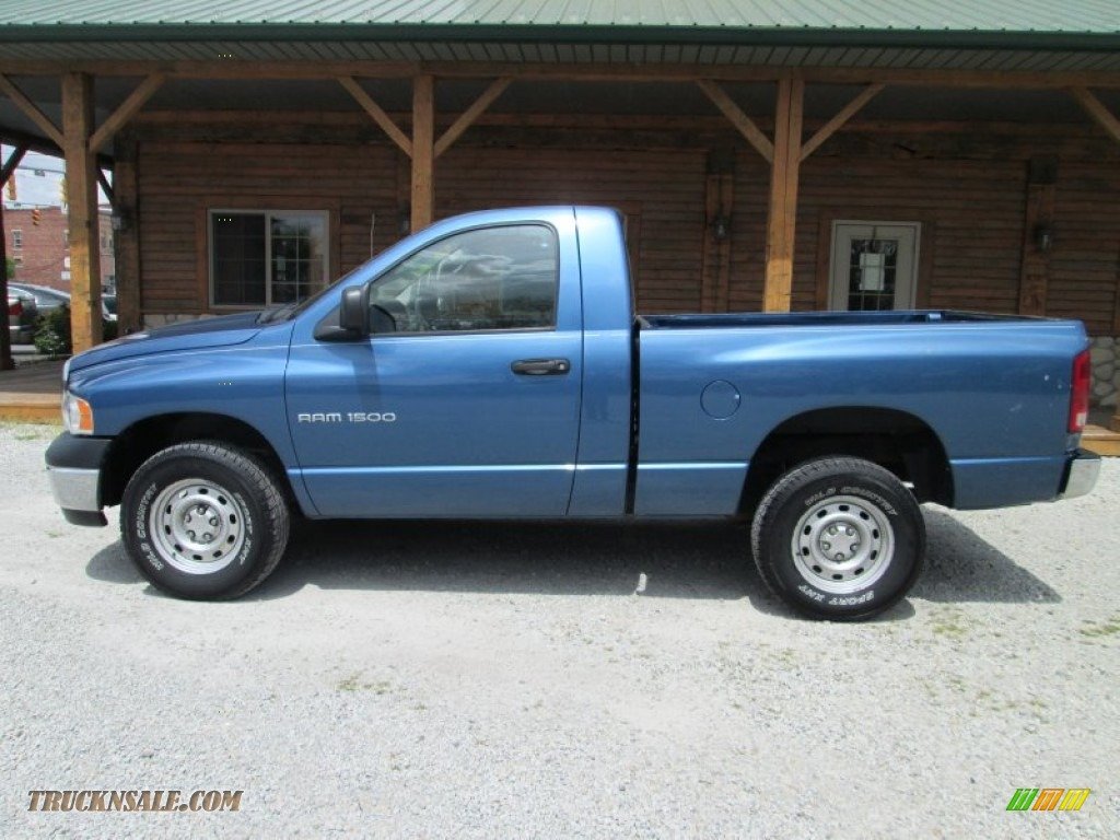 2005 Dodge Ram 1500 St Regular Cab 4x4 In Atlantic Blue
