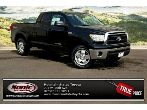 Black 2013 Toyota Tundra SR5 TRD Double Cab 4x4