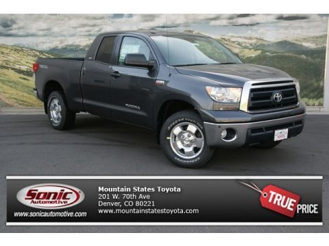 Magnetic Gray Metallic 2013 Toyota Tundra SR5 TRD Double Cab 4x4