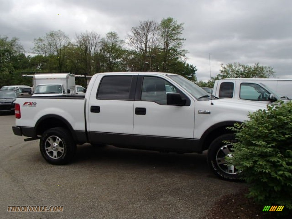 2005 ford f150 fx4 supercrew 4x4 in oxford white c99546. Black Bedroom Furniture Sets. Home Design Ideas