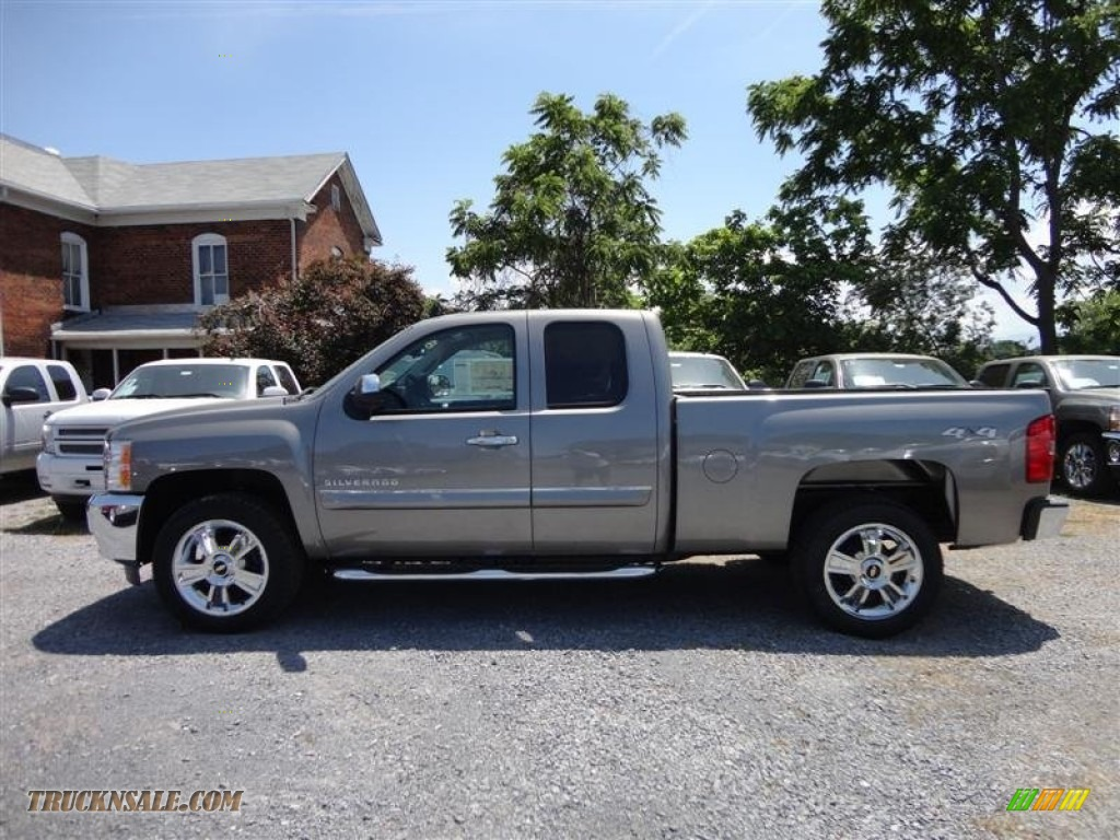 2013 silverado 2500hd lt extended cab 4x4 graystone metallic ebony. Cars Review. Best American Auto & Cars Review