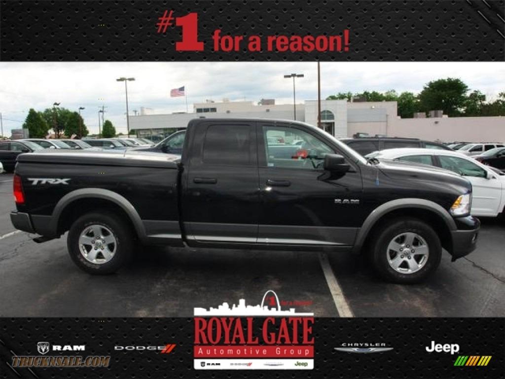 Royal Gate Dodge >> 2009 Dodge Ram 1500 TRX Quad Cab in Brilliant Black Crystal Pearl photo #9 - 794766 | Truck N' Sale