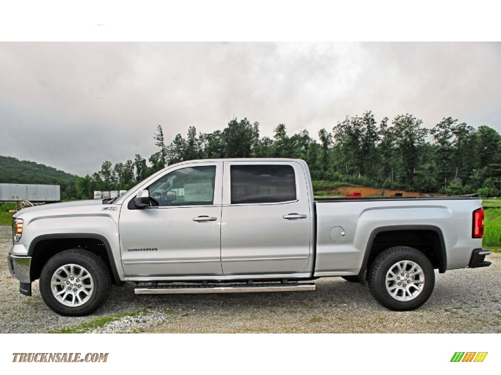 2014 gmc sierra 1500 sle crew cab 4x4 in quicksilver metallic photo 6 128267 truck n 39 sale. Black Bedroom Furniture Sets. Home Design Ideas