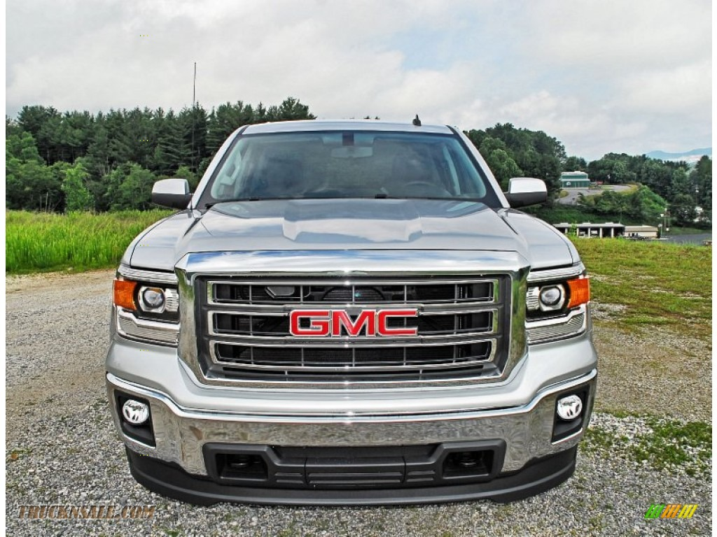 2014 gmc sierra 1500 sle crew cab 4x4 in quicksilver metallic photo 7 128267 truck n 39 sale. Black Bedroom Furniture Sets. Home Design Ideas