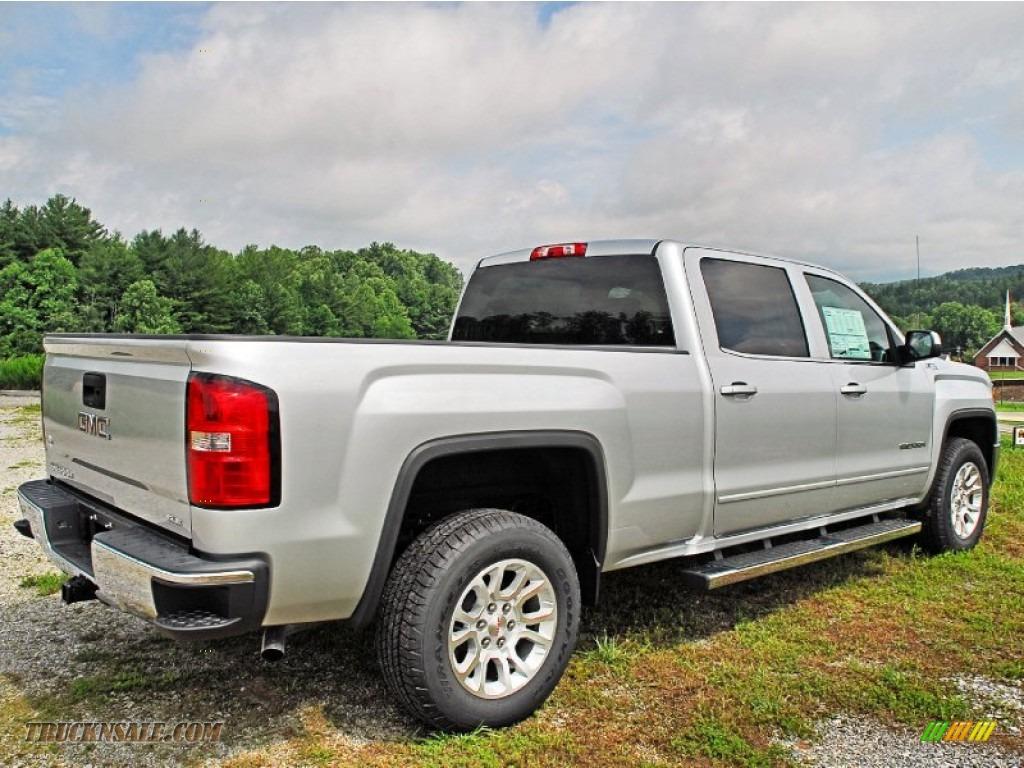 2014 gmc sierra 1500 sle crew cab 4x4 in quicksilver metallic photo 8 128267 truck n 39 sale. Black Bedroom Furniture Sets. Home Design Ideas
