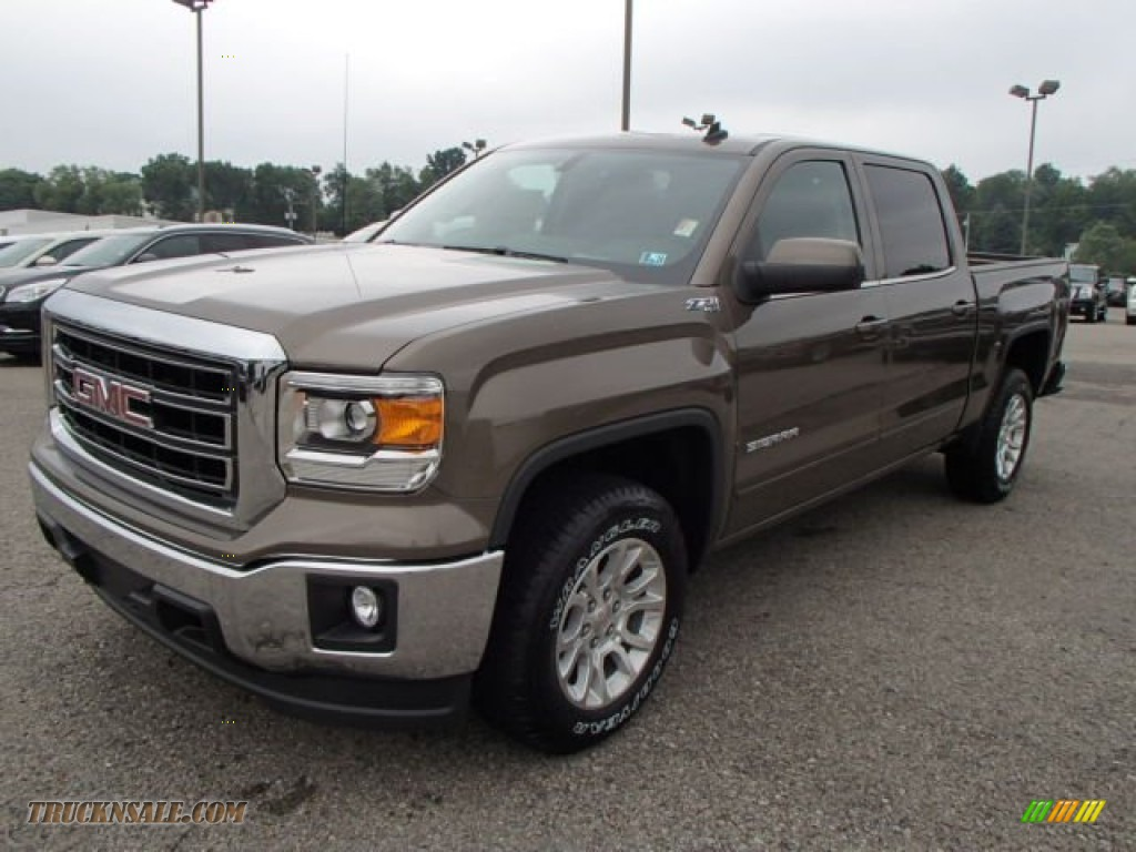 2014 gmc sierra 1500 sle crew cab 4x4 in bronze alloy metallic photo 2 125789 truck n 39 sale. Black Bedroom Furniture Sets. Home Design Ideas