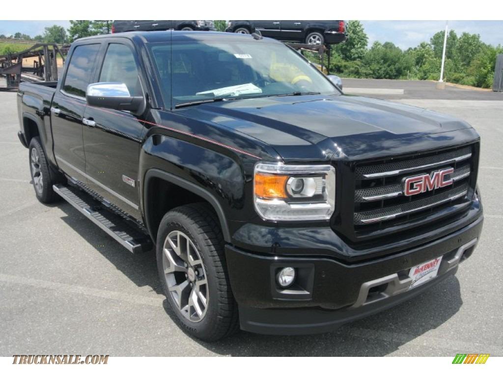 2014 gmc sierra 1500 slt crew cab 4x4 in onyx black 143179 truck n 39 sale. Black Bedroom Furniture Sets. Home Design Ideas