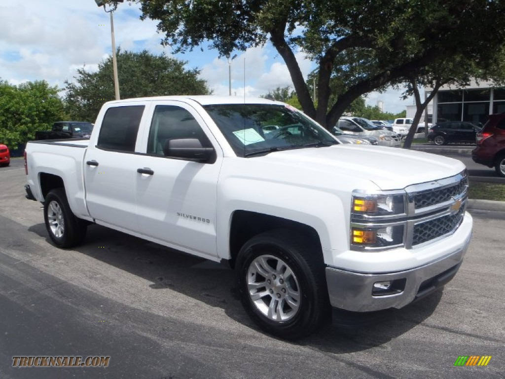 2014 chevrolet silverado 1500 lt crew cab in summit white 130716 truck n 39 sale. Black Bedroom Furniture Sets. Home Design Ideas