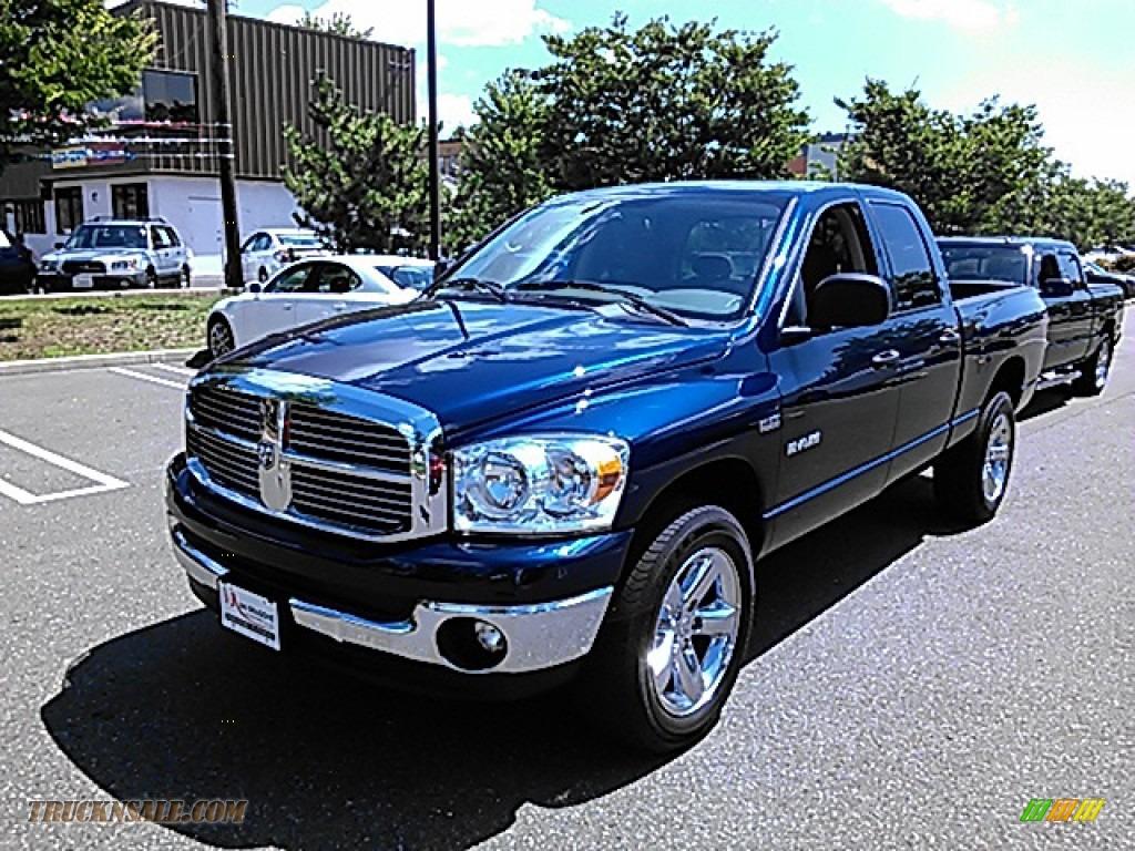 2008 Dodge Ram 1500 Slt Quad Cab 4x4 In Patriot Blue Pearl