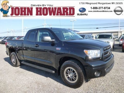 Black 2011 Toyota Tundra TRD Rock Warrior Double Cab 4x4