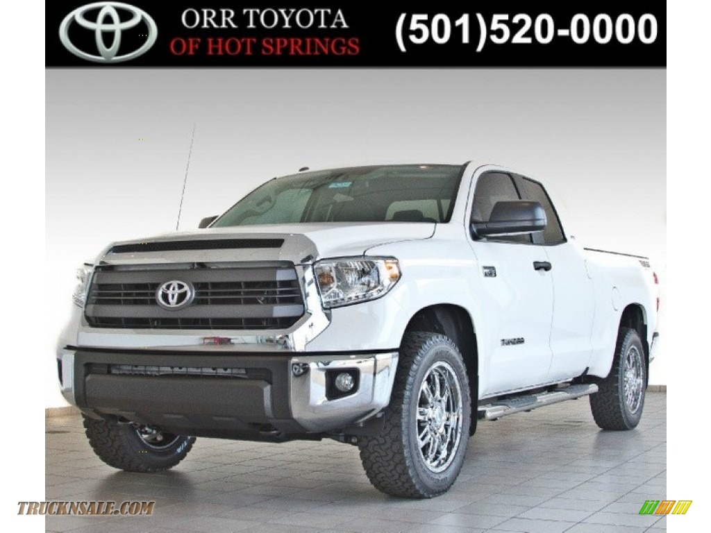 2014 toyota tundra tss double cab 4x4 in super white 325576 truck n 39 sale. Black Bedroom Furniture Sets. Home Design Ideas