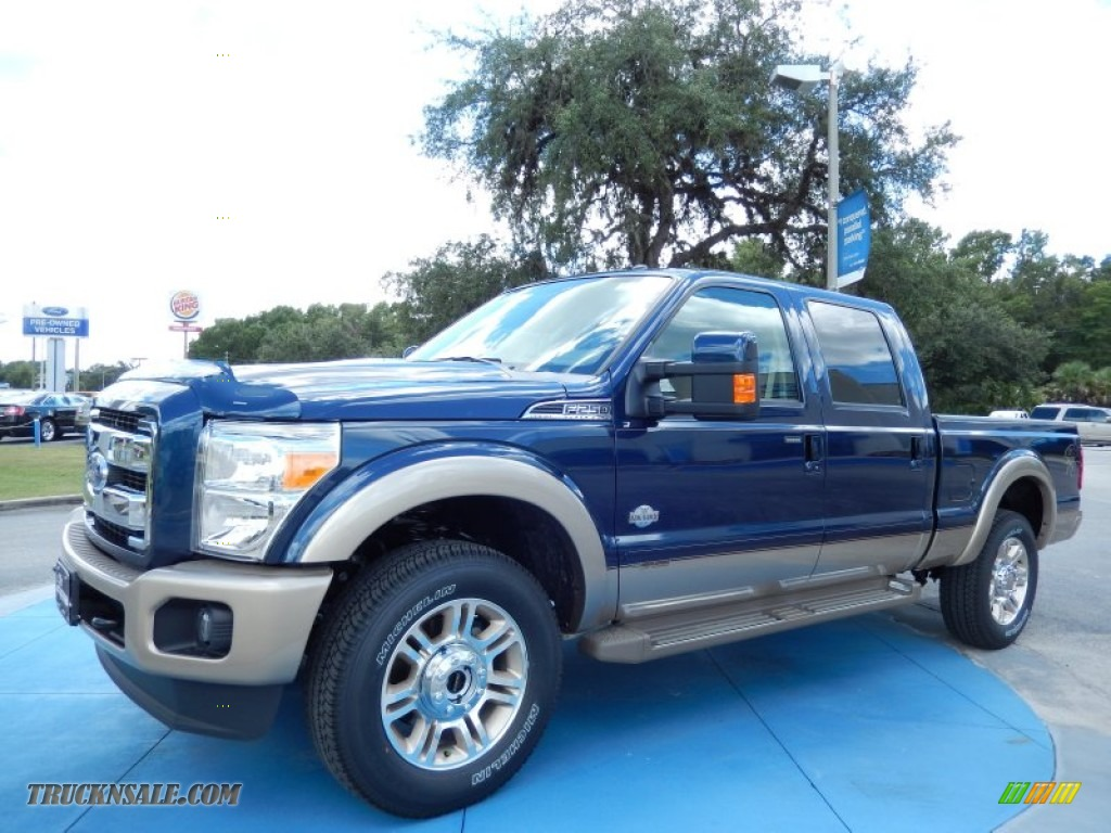 2014 F250 Super Duty King Ranch Crew Cab 4x4 - Blue Jeans Metallic