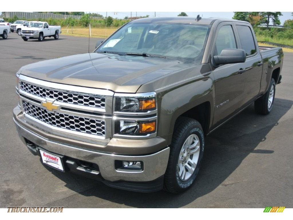 2014 chevrolet silverado 1500 lt crew cab 4x4 in brownstone metallic photo 2 202218 truck n. Black Bedroom Furniture Sets. Home Design Ideas