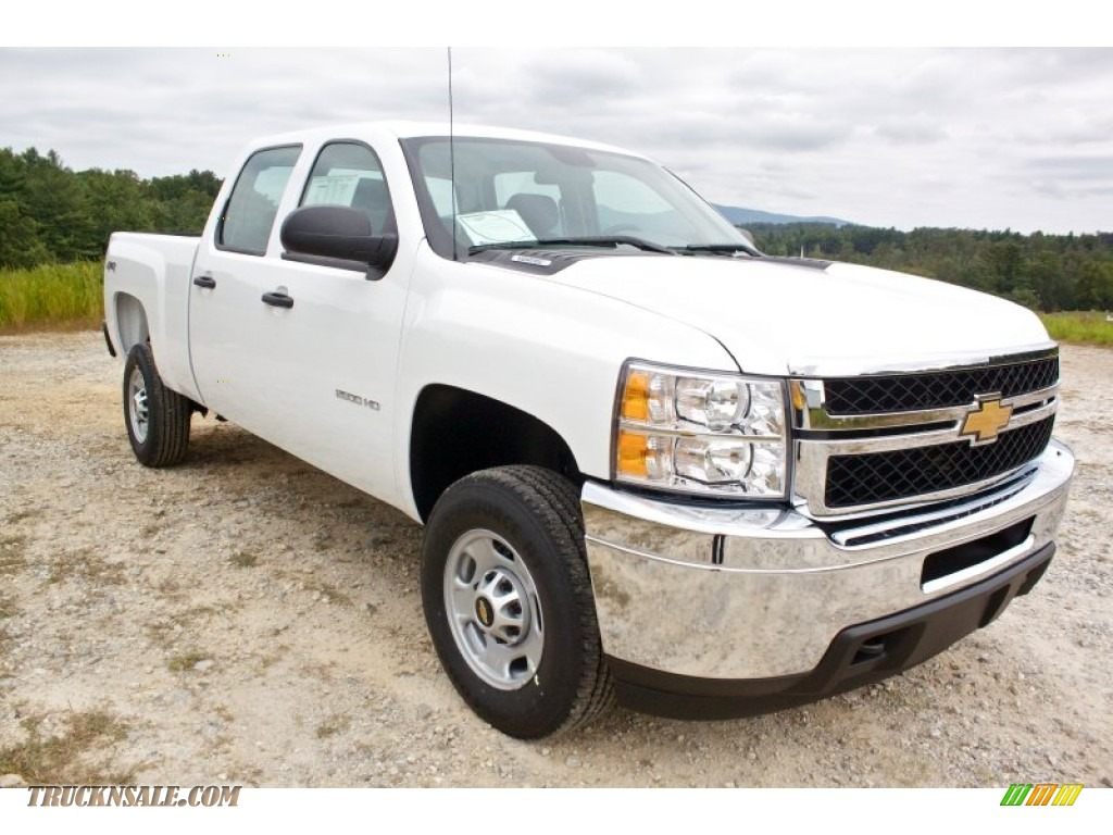 2014 chevrolet silverado 2500hd wt crew cab 4x4 in summit white 137130 truck n 39 sale. Black Bedroom Furniture Sets. Home Design Ideas