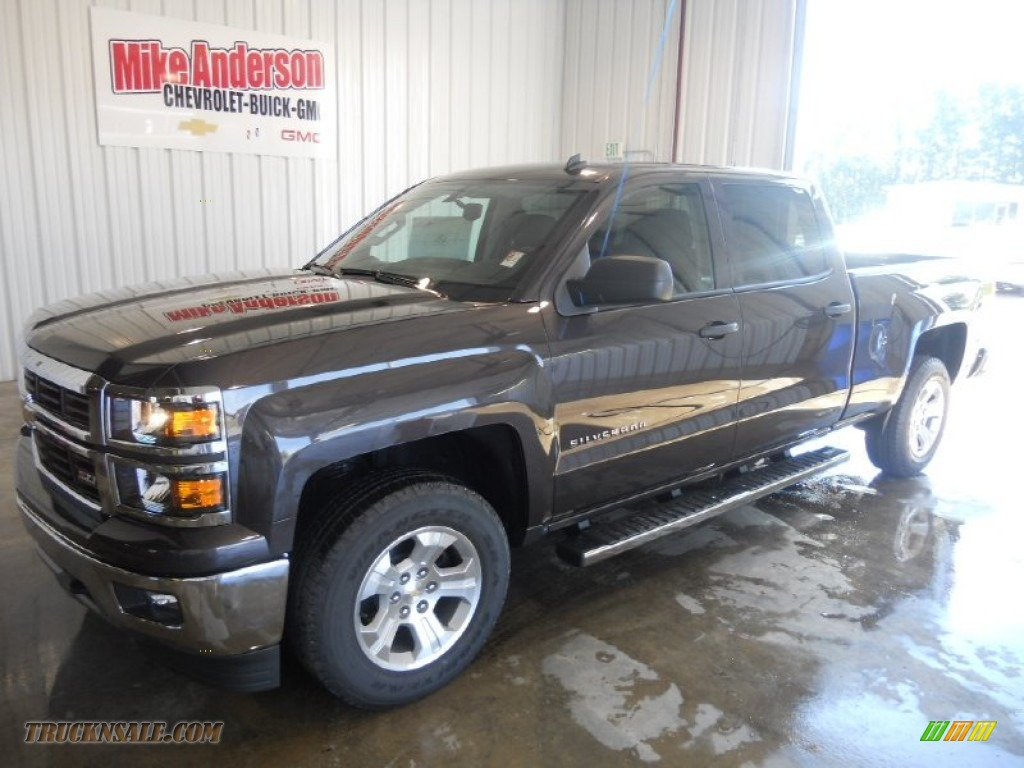 2014 chevrolet silverado 1500 lt crew cab 4x4 in tungsten metallic 235392 truck n 39 sale. Black Bedroom Furniture Sets. Home Design Ideas