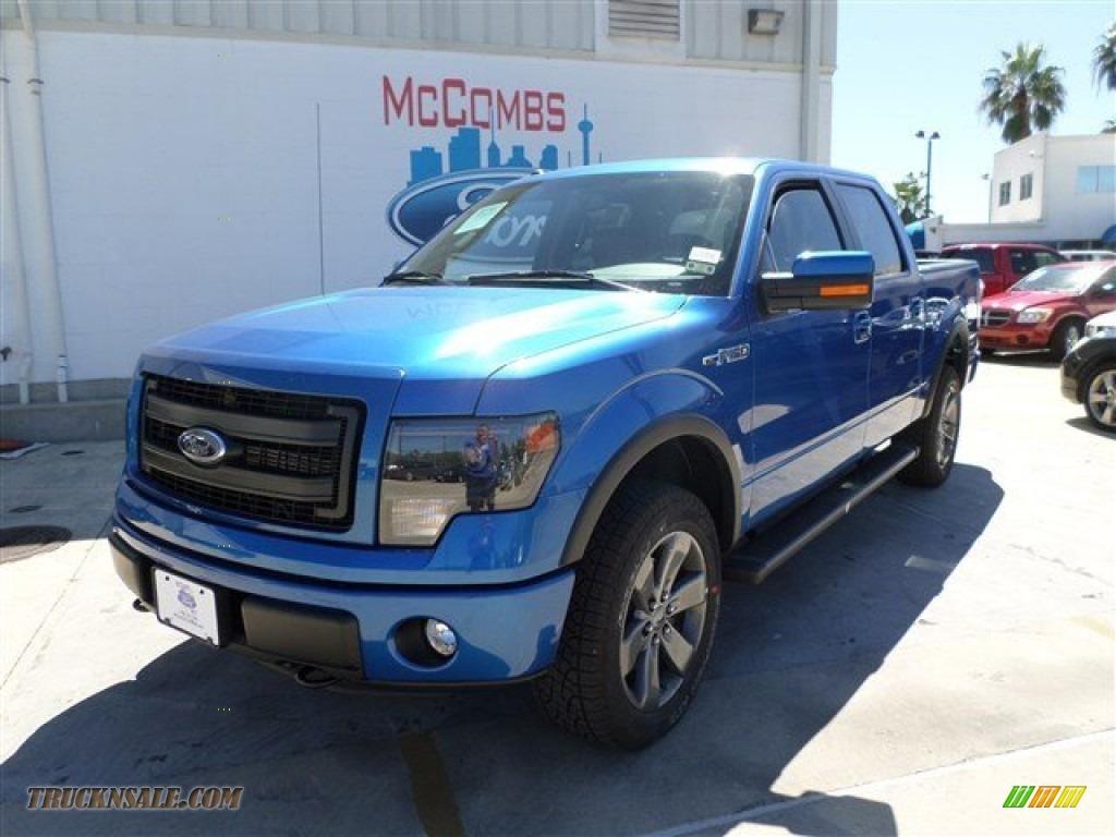 2013 ford f150 fx4 supercrew 4x4 in blue flame metallic f93338 truck n 39 sale. Black Bedroom Furniture Sets. Home Design Ideas