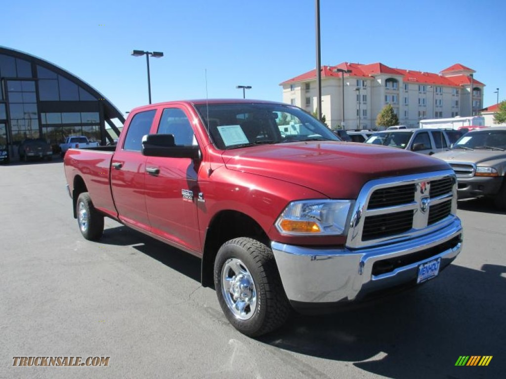 2012 dodge ram 2500 hd st crew cab 4x4 in deep cherry red crystal pearl 226069 truck n 39 sale. Black Bedroom Furniture Sets. Home Design Ideas