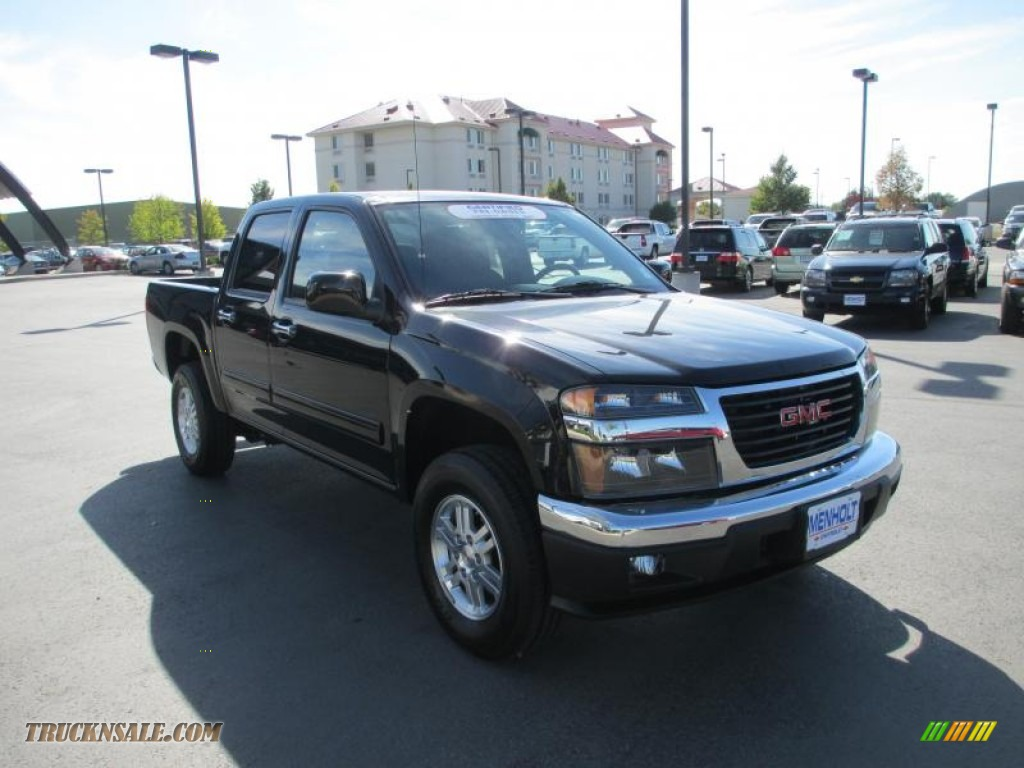 2012 gmc canyon sle crew cab 4x4 in onyx black 110488 truck n 39 sale. Black Bedroom Furniture Sets. Home Design Ideas