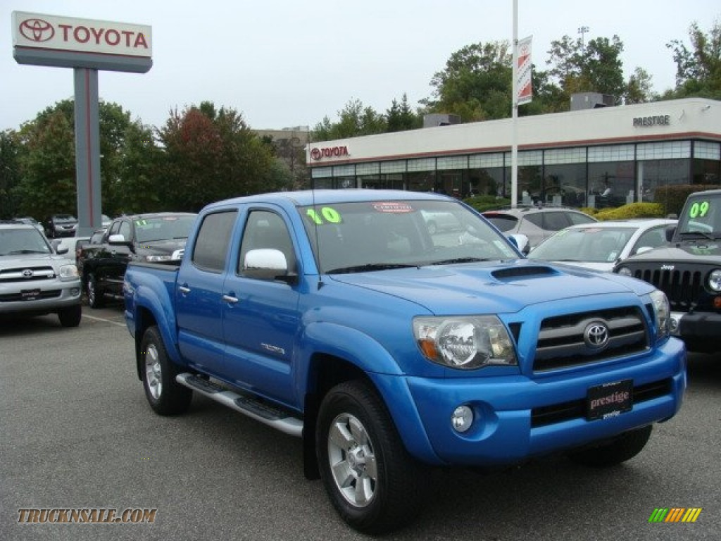 2010 Toyota Tacoma V6 Sr5 Trd Sport Double Cab 4x4 In