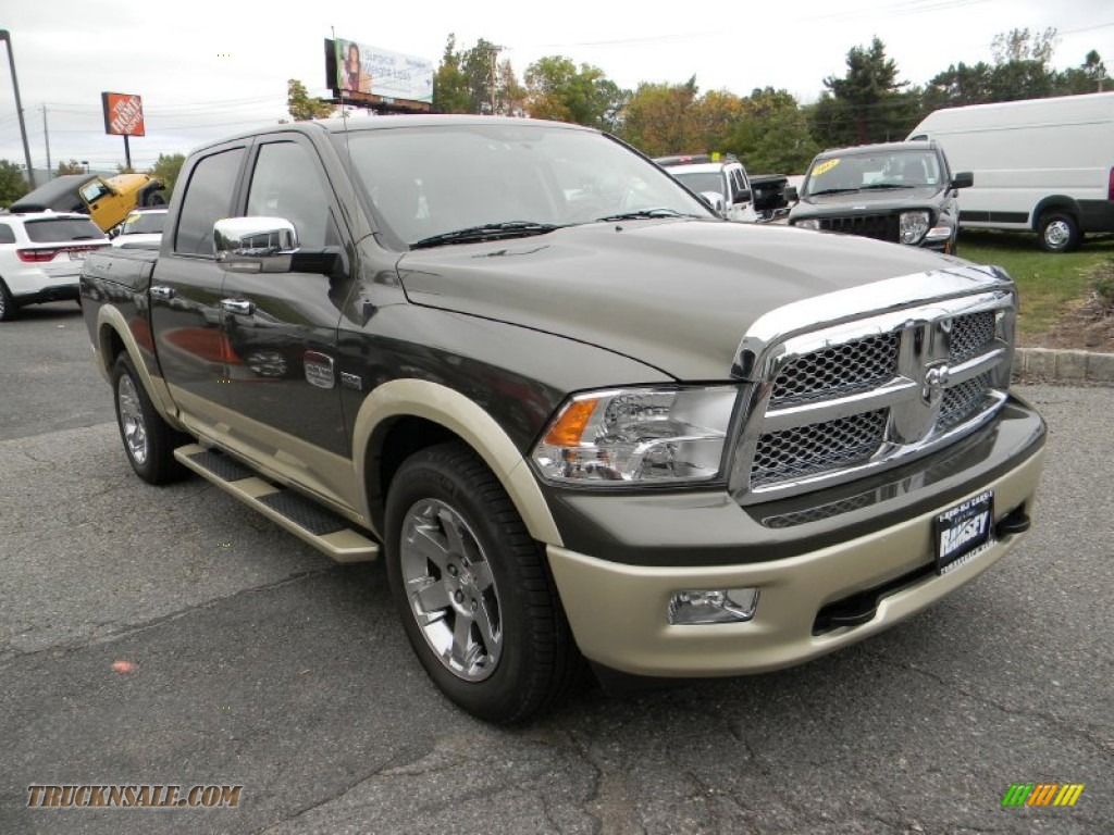 2012 dodge ram 1500 laramie longhorn crew cab 4x4 in sagebrush pearl photo 4 122183 truck n. Black Bedroom Furniture Sets. Home Design Ideas