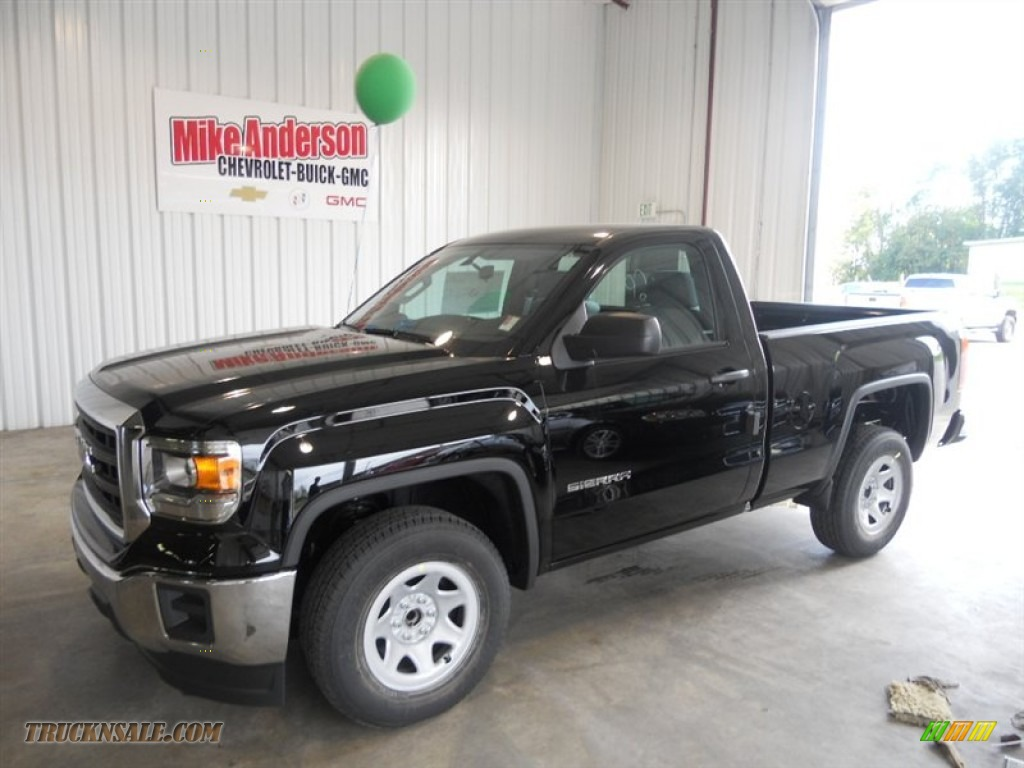 2014 Gmc Sierra 1500 Regular Cab In Onyx Black 164669
