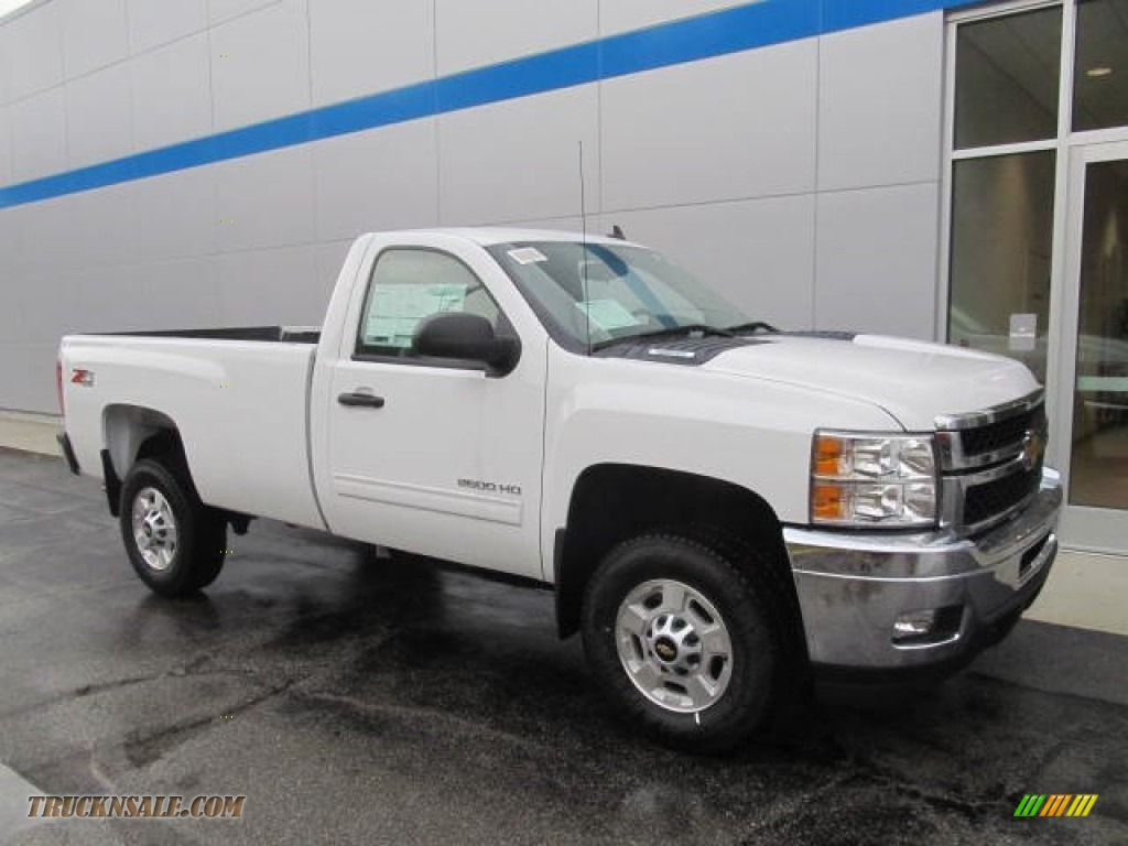 2014 Chevrolet Silverado 2500HD LT Regular Cab 4x4 in Summit White - 104608 | Truck N' Sale