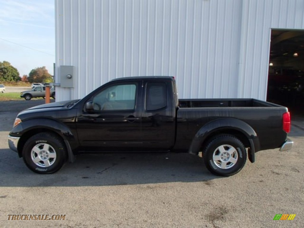 2007 nissan frontier se king cab 4x4 in super black 419471 truck n 39 sale. Black Bedroom Furniture Sets. Home Design Ideas