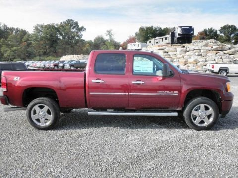 Sonoma Red Metallic 2014 GMC Sierra 2500HD Denali Crew Cab 4x4