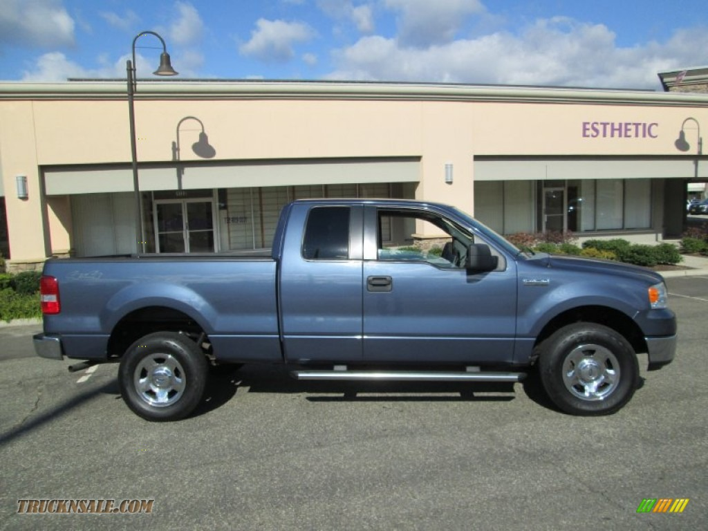 2005 ford f150 xlt supercab 4x4 in medium wedgewood blue. Black Bedroom Furniture Sets. Home Design Ideas