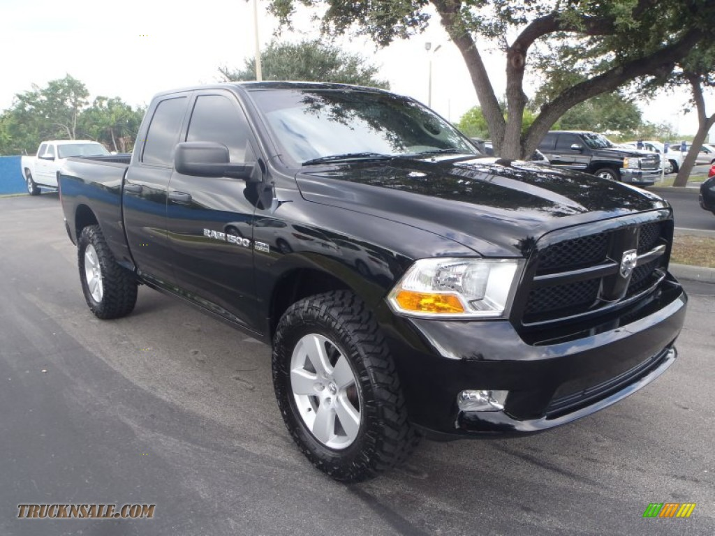 2012 Dodge Ram 1500 St Quad Cab 4x4 In Black 134297