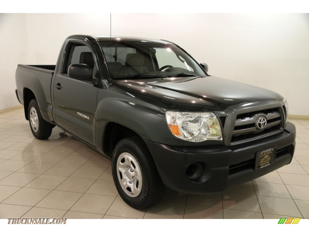 2010 toyota tacoma regular cab in timberland mica 710818 truck n 39 sale. Black Bedroom Furniture Sets. Home Design Ideas