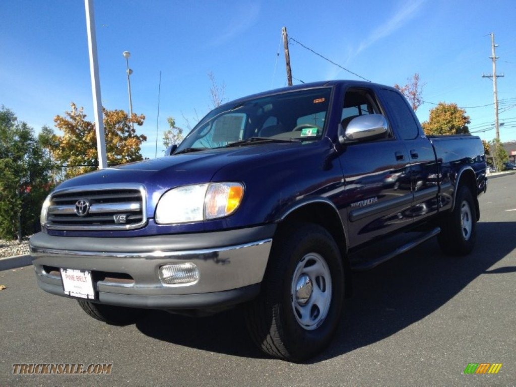 2000 toyota tundra sr5 extended cab 4x4 in stellar blue. Black Bedroom Furniture Sets. Home Design Ideas