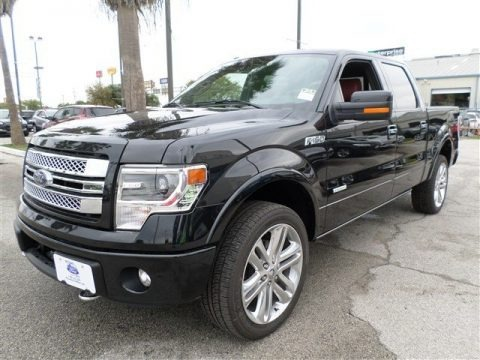 Tuxedo Black Metallic 2013 Ford F150 Limited SuperCrew 4x4