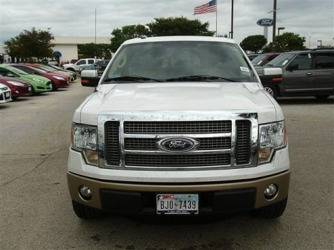 Oxford White 2011 Ford F150 Lariat SuperCrew
