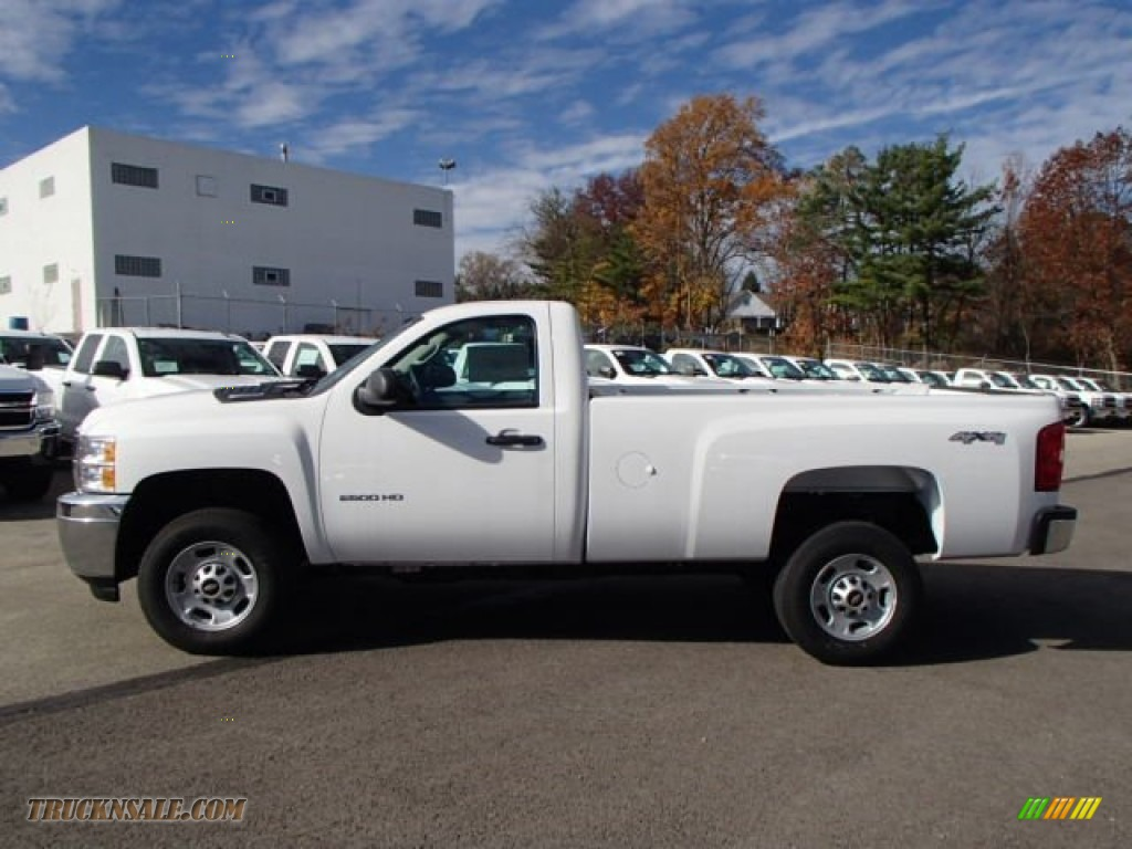 2014 chevrolet silverado 2500hd wt regular cab 4x4 in summit white 110193 truck n 39 sale. Black Bedroom Furniture Sets. Home Design Ideas
