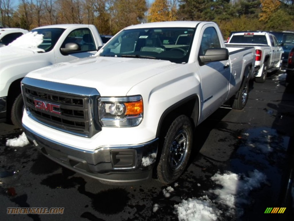 2014 gmc sierra 1500 regular cab in summit white 180333 truck n 39 sale. Black Bedroom Furniture Sets. Home Design Ideas