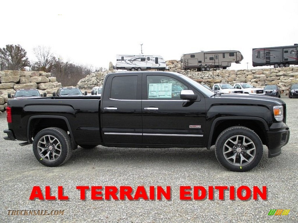 2014 Gmc Sierra 1500 Slt Double Cab 4x4 In Onyx Black 195120