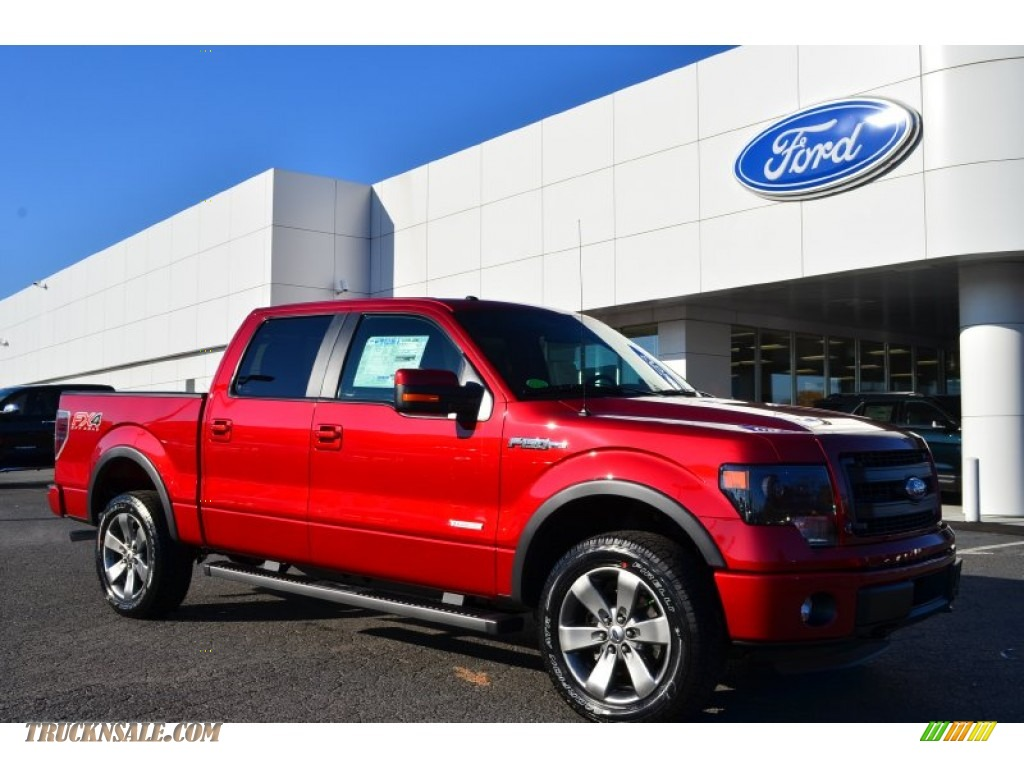 2014 ford f150 fx4 supercrew 4x4 in ruby red a05873 truck n 39 sale. Black Bedroom Furniture Sets. Home Design Ideas