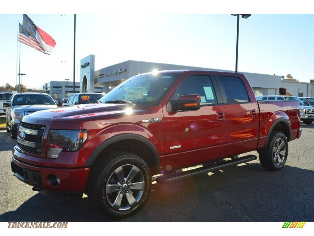 2014 ford f150 fx4 supercrew 4x4 in ruby red photo 3 a05873 truck n 39 sale. Black Bedroom Furniture Sets. Home Design Ideas