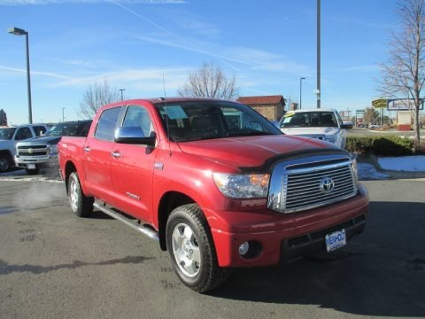 Barcelona Red Metallic 2011 Toyota Tundra Limited CrewMax 4x4