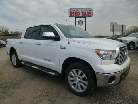 Super White 2013 Toyota Tundra Limited CrewMax 4x4