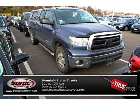 Nautical Blue Metallic 2010 Toyota Tundra TRD Double Cab 4x4