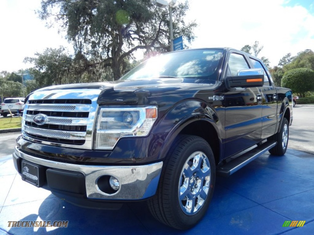 2014 ford f150 lariat supercrew in kodiak brown a24996 truck n 39 sale. Black Bedroom Furniture Sets. Home Design Ideas