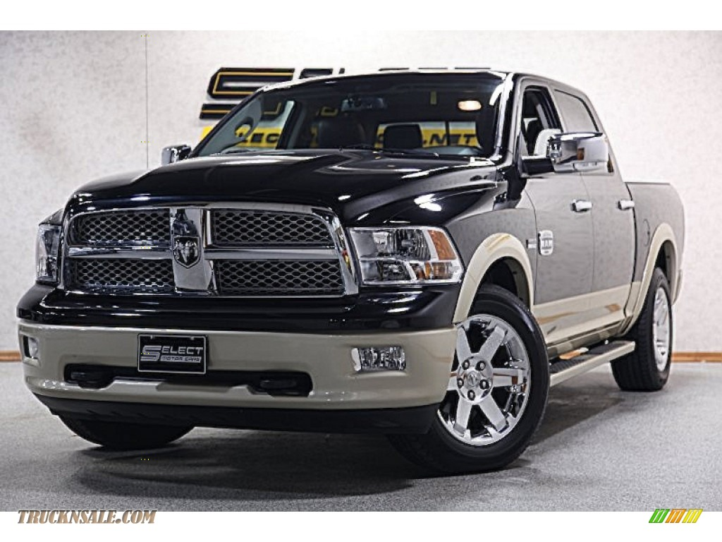 2012 dodge ram 1500 laramie longhorn crew cab 4x4 in black 258359 truck n 39 sale. Black Bedroom Furniture Sets. Home Design Ideas
