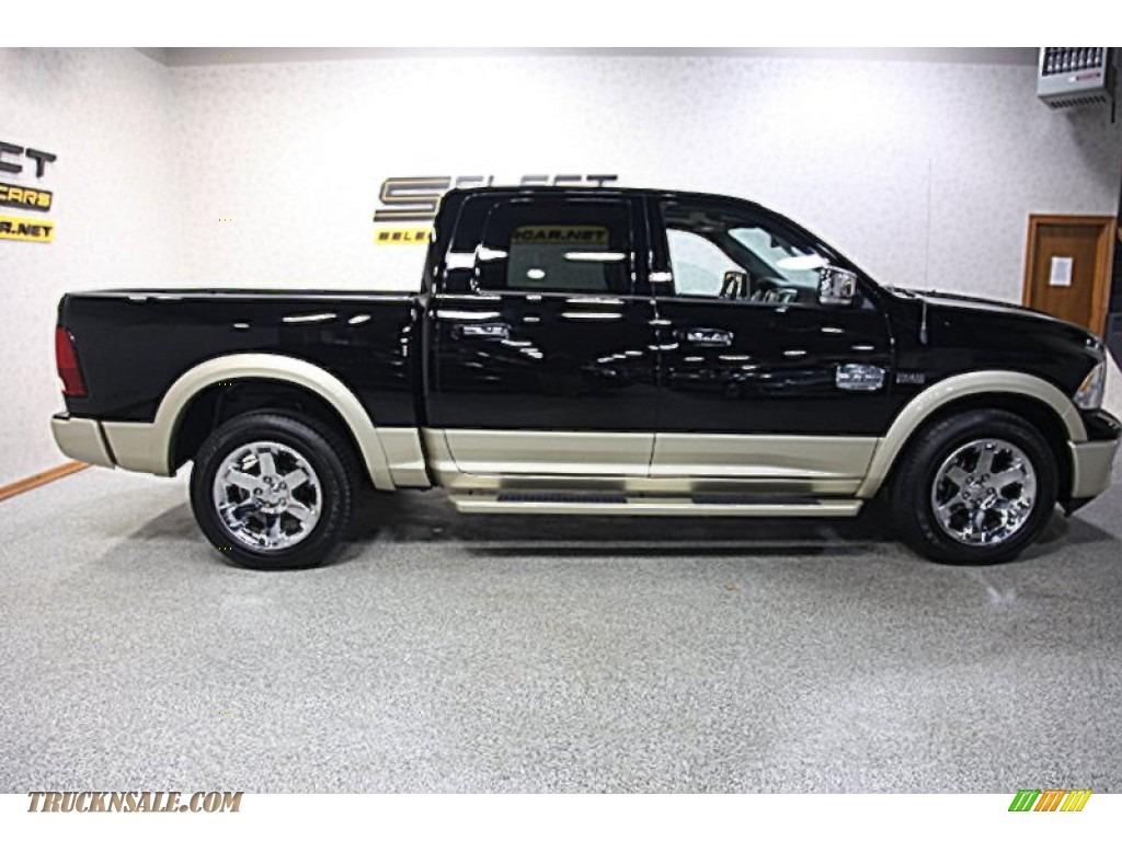 Pine Belt Jeep >> 2012 Dodge Ram 1500 Laramie Longhorn Crew Cab 4x4 in Black photo #4 - 258359 | Truck N' Sale