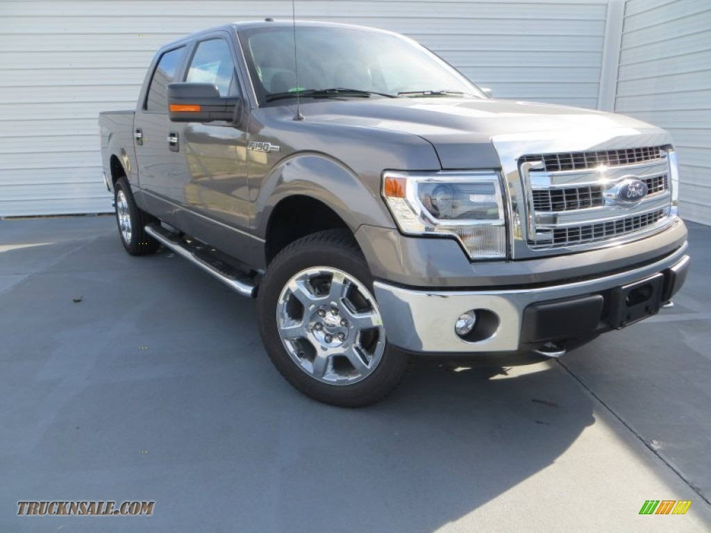 2014 ford f150 xlt supercrew 4x4 in sterling grey a13538 truck n 39 sale. Black Bedroom Furniture Sets. Home Design Ideas