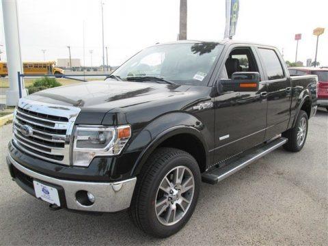 tuxedo black ford f150 lariat supercrew 4x4 trucks for sale truck n 39 sale. Black Bedroom Furniture Sets. Home Design Ideas