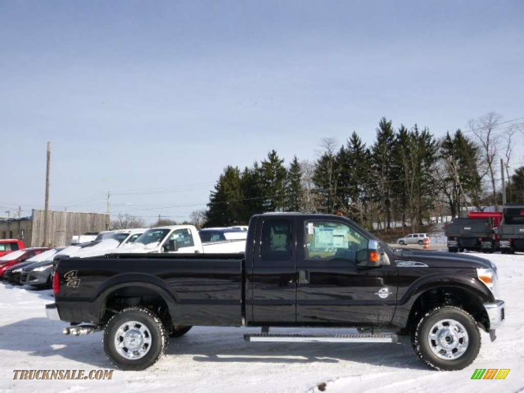 2014 Ford F350 Super Duty Xlt Supercab 4x4 In Kodiak Brown Metallic F 350 Adobe Photo 1